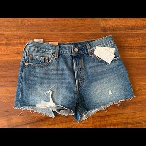 NWT Levi's 501 shorts